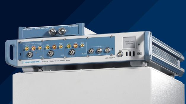 Mit dem CMPQ lassen sich Gerätetests im FR2-Band durchführen.