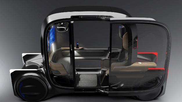 """丰田将豪华的""""Toyota e-4me""""称为单座机动出行平台。"""