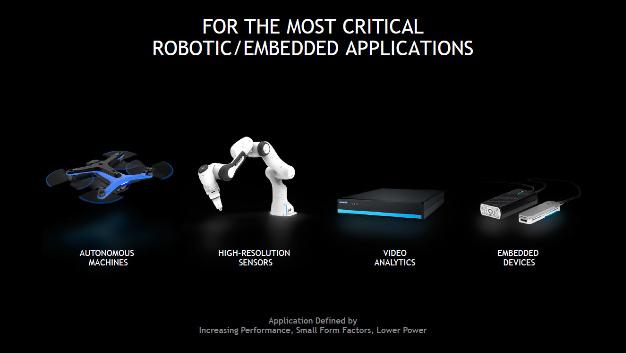Typische Einsatzgebiete für die Edge-Computing-Plattform Jetson Xavier NX sind Anwendungen, bei denen Größe, Gewicht, Leistungsaufnahme oder Kosten engen Grenzen unterliegen.