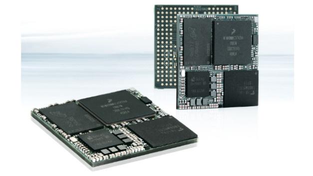 System on Module SL i.MX8M Mini:Kontron erweitert seine Produktpalette um das System on Module(SoM) SLi.MX8MMini. Das kompakte Modul bietet auf kleinstem Raum (30 x 30 mm) eine hohe Leistung für anspruchsvolle 3D-Grafik, vielfältige Kommunikation und rechenintensive Anwendungen. Ausgestattet ist das Board mit vier Cortex-A53-Prozessoren und DDR4RAM. Das prädestiniert es für einfache und effiziente Board- und Anwendungsentwicklungen. Zudem bietet es umfangreiche Schnittstellen und ein Linux-BSP (Board Support Package) für Industrial Internet of Things(IIoT)- und Industrie4.0-Anwendungen. Höchste Sicherheitsansprüche erfüllt das SoM mithilfe aktueller Verschlüsselungs-Techniken, Secure-Boot und weiteren Sicherheits-Merkmalen. In Kombination mit aktueller Wireless-Technik und modernen Software-Architekturen eignet es sich für das Entwickeln sicherer Geräte in IoT-Netzwerken. Für individuelle Board-Designs stellt das SLi.MX8MMini eine leistungsfähige, kompakte und kostengünstige Grundlage dar.