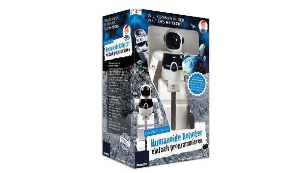 Der kleine Hacker - Humanoide Roboter einfach programmieren