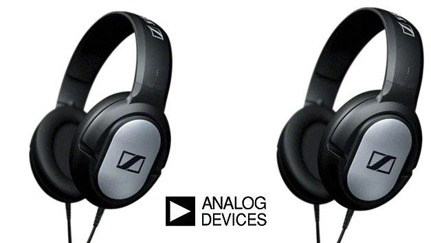 3. Preis: Zwei hochwertige Kopfhörer des Herstellers Sennheiser im Wert Euro gestiftet von Analog Devices