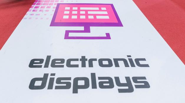 Für die Sonderschau Electronic Displays Area in Halle 1 und Halle 3 haben sich 111 Aussteller angemeldet.