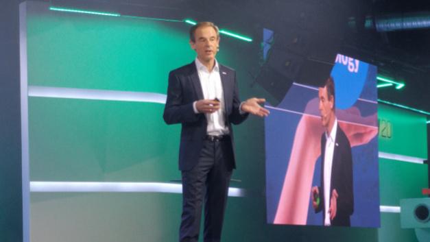 Bosch-CEO Dr. Volkmar Denner: »Wir müssen beides entwickeln, KI und Vertrauen in KI«.