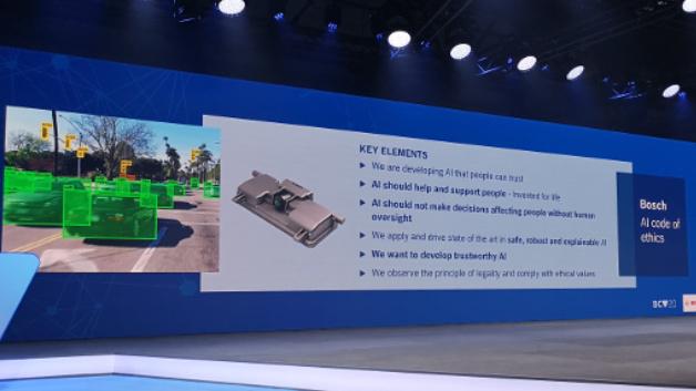 Beispiel für den KI-Einsatz im Sensor: die 3. Generation einer Front-Kamera für das Auto.