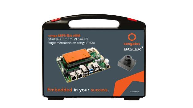 MIPI-Kamera-Support: Die neue Embedded-Vision-Plattform für die NXP-i.MX 8-Prozessorserie basiert auf einem modularen 3,5 Zoll Carrierboard, ist in verschiedenen SMARC Computer-on-Modul-Konfigurationen verfügbar und wird mit einem 13 Megapixel Basler BCON-for-MIPI-Kameramodul geliefert. Das Kameramodul lässt sich direkt an das 3,5-Zoll Board anschließen, da alle erforderlichen Bauelemente für den Anschluss von MIPI-Kameras bereits integriert sind. Folglich sind keine zusätzlichen Konverterbaugruppen erforderlich. Neben MIPI-CSI 2.0 unterstützt das Modul USB und GigE-Vision Kameras sowie KI und Neuronalen Netze des NXP-i.MX8-Ökosystems. Damit sind Bildsegmentierungsalgorithmen zur Identifikation von Objekten wie Verkehrszeichen nutzbar.