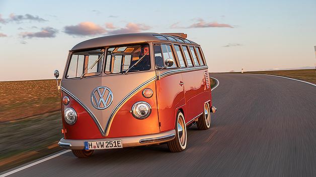 Der Klassiker der Campingbusse kommt retro-elektrisch.