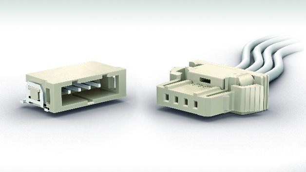 Vibrationsfester Automotive-Steckverbinder:   Mit der Serie »iBridge Ultra« erweitert Erni sein umfangreiches Angebot an Cable-to-Board-Steckern. Die Stecker im 2,0-mm-Raster ermöglichen kompakte und zuverlässige Verbindungen, die hohen Vibrationen standhalten. Ein Hauptmerkmal ist die »Terminal Position Assurance« (TPA), eine zusätzliche Fixierung der Crimp-Kontakte im Buchsengehäuse. Durch diese sekundäre Verriegelung und andere Maßnahmen sind die Verbindungen besonders beständig gegen starke Vibrationen. Die Produktfamilie wurde nach den Anforderungen von USCAR-2 und USCAR-21 getestet, eignet sich aber auch für viele andere Anwendungen, bei denen hohen Vibrationsbelastungen auftreten.