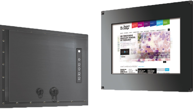 Die Videomonitore von Crystal Display Systems sind vollständig abgedichtet und erfüllen die IP66-Spezifikationen (IP67/NEMA 6 und MIL-STD/MIL-SPC auf Anfrage). Diese für den Betrieb in rauen Umgebungen konstruierten und getesteten Geräte sind wasserdicht, stoß- und vibrationsfest und lassen sich mit Komponenten für Betriebstemperaturen zwischen –20°C und +50°C ausstatten – auch erweiterte Betriebstemperaturen sind erhältlich. Die pulverbeschichtete Aluminiumkonstruktion ist gegen Korrosionen und Witterungseinflüsse beständig.