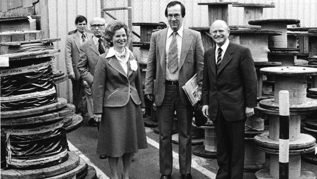 Ursula Ida Lapp stand in der industriellen Männerwelt