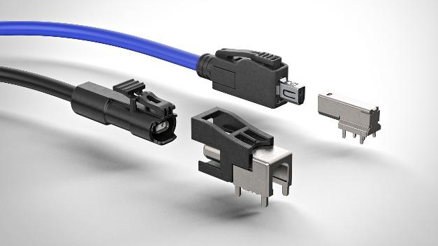 """Single Pair Ethernet – vom Auto in die Industrie Rosenberger erweitert sein Ethernet-Portfolio um zwei """"Single Pair Ethernet""""-Steckverbinder für industrielle Anwendungen: """"RoSPE-HMTD"""", basierend auf dem Automotive-Stecker mit Industriegehäuse (siehe Bild), und """"RoSPE-Industrial"""", einem mit führenden Herstellern gemeinsam entwickelten Steckgesicht.  Die Entwicklung von Single Pair Ethernet hat ihren Ursprung in der Automobilbranche, denn hier fordern Technologien wie das autonome Fahren eine Verbindungstechnik, die die Übertragung größerer Datenraten auf geringem Bauraum ermöglicht. Rosenberger hat langjährige Expertise in diesem Segment. Unter anderem ist es dem Unternehmen gelungen, mit den Differential-Steckverbinder-Serien MTD und H-MTD platzsparende, leichte und robuste Stecksysteme zu entwickeln, welche die geltenden mechanischen und umweltbezogenen Anforderungen erfüllen."""