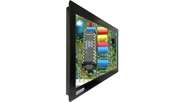"""Bei reikotronic ist eine Ganzglasfront für Industrie-Monitore sowie als Einbaumonitore als auch Gehäuse Monitore verfügbar. Die glatte Ganzglasfläche ohne Ecken und Schmutzkanten gewährleistet für jede TFT-Ausführung frontseitig die Schutzart IP 65. Ein Passpartout schließt die Berandung ab. Das Full-HD-Industriedisplay verfügt über 1920 x 1080 Bildpunkte mit hoher Helligkeit. Der Sichtbereich ist vertikal als auch horizontal mit 178° Blickwinkel ablesbar. Verfügbar sind die Monitore in 24"""", 32"""", 42"""", 55"""" und 65"""". Ein PCAP Multitouch für 10-Finger-Bedienung ist ebenfalls mit Ganzglasfront lieferbar. Die Eingangsvideosignale der Industrie-TFT Monitore liefert das Unternehmen mit HDMI, DVI, VGA oder Displayport. Ein weiteres optionales Ausstattungsmerkmal ist ein integrierter Industrie-PC je nach Monitorgröße eingebaut oder ein leicht zu tauschender Einschub. Die IPC-Ausstattung kann ein Prozessor Atom, Intel i3, Intel i5 oder Intel i7 sein."""