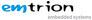 Logo der Firma emtrion GmbH