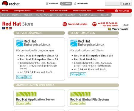 Open Source Software Red Hat Will Online Shop Für Open Source