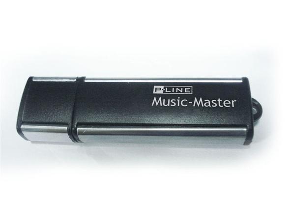 p line music master usb stick mit integriertem fm sender. Black Bedroom Furniture Sets. Home Design Ideas