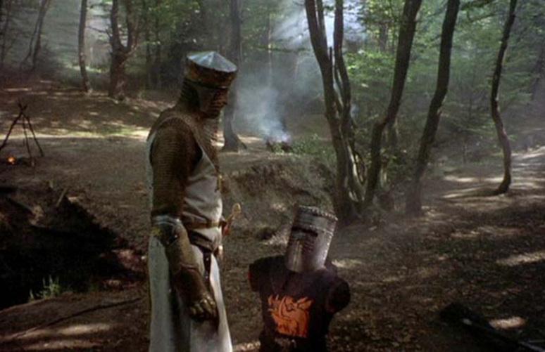 Ritter Der Kokosnuss Schwarzer Ritter