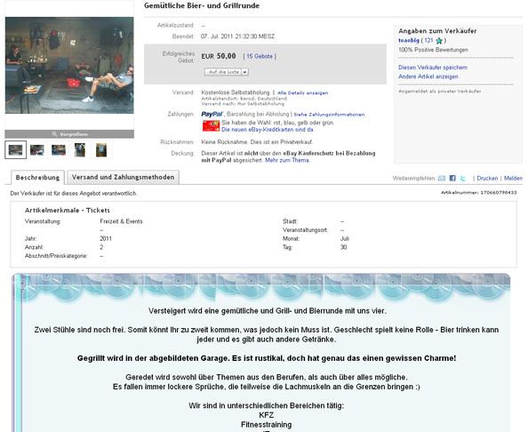 Kurioses Aus Dem Web Die Irrsten Auktionen Auf Ebay Crn De