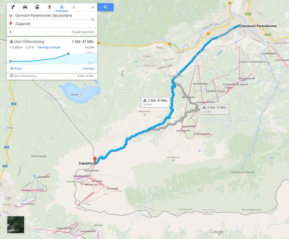 Googles parado Update: Desktop-Navi fürs Fahrrad - crn.de on
