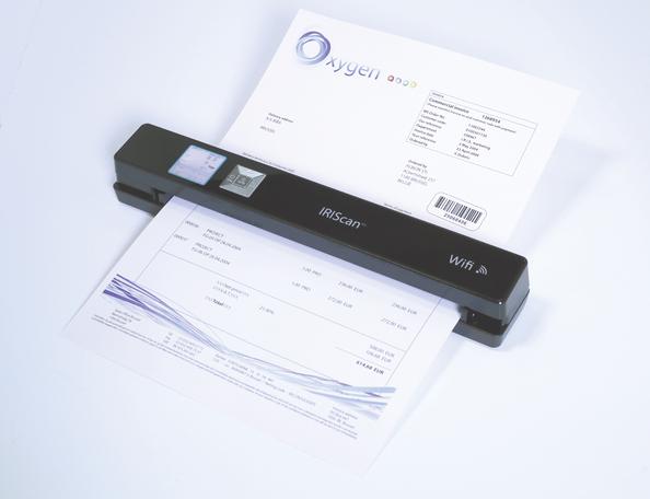 Digitalisierung Von Dokumenten Iris Mit Neuer Portabler