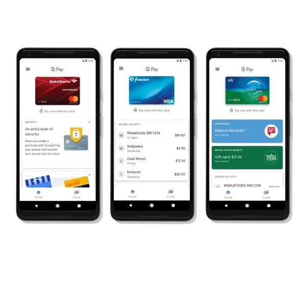 google pay google bringt seinen smartphone bezahldienst. Black Bedroom Furniture Sets. Home Design Ideas