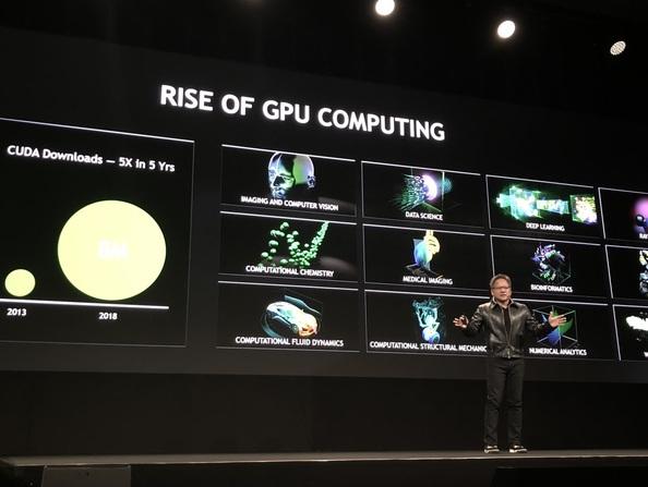 Nvidia GPU Technology Conference Europe 2018: Nvidia GTC