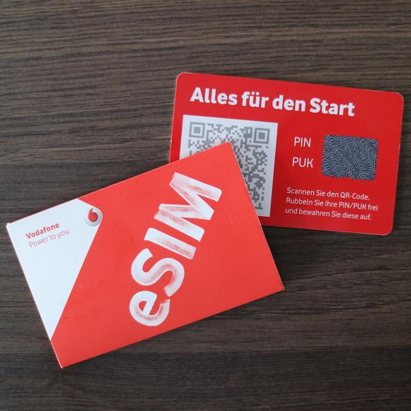 Nano Sim Karte Vodafone.Digitale Sim Karte In Deutschland Vodafone Startet Mit Der Esim