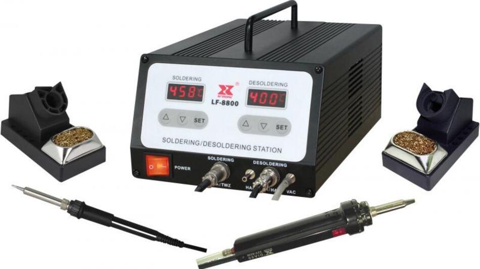 Die 100-Watt-Löt-Entlötstation im Promotion Set