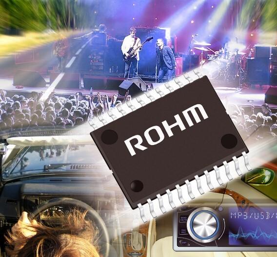 Die neue Klangprozessor-IC-Familie von Rohm.