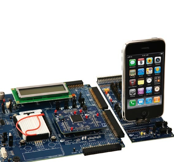 Entwicklungsplattform für iPhone- und iPod-Zubehör.