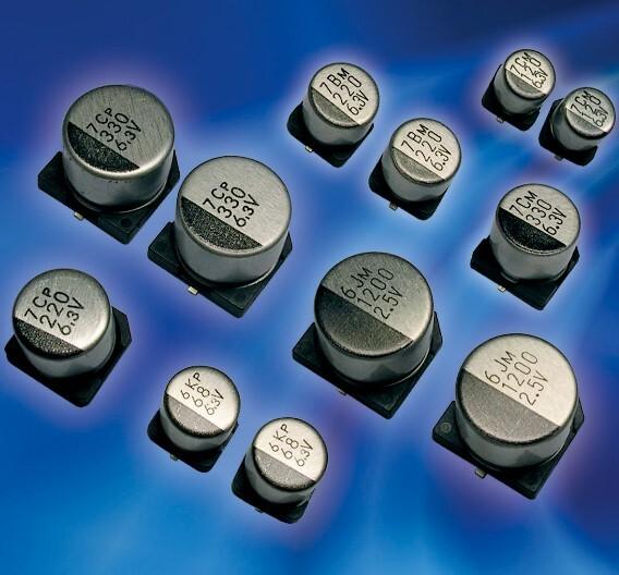 Die SMD-Polymer-Kondensatoren der PVK-Serie von Elna (Vertrieb: Beck Elektronik).