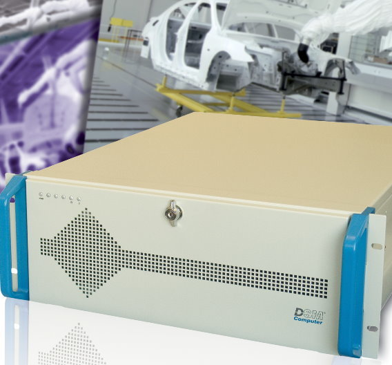 Der 19-Zoll-Industriecomputer »Infinity 96M1574« von DSM Computer ist ein Allrounder für die Automation.