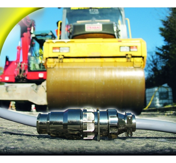 Metall- und Kunststoff-Steckverbinder, entsprechend der Schutzart IP 67 bzw. IP 68