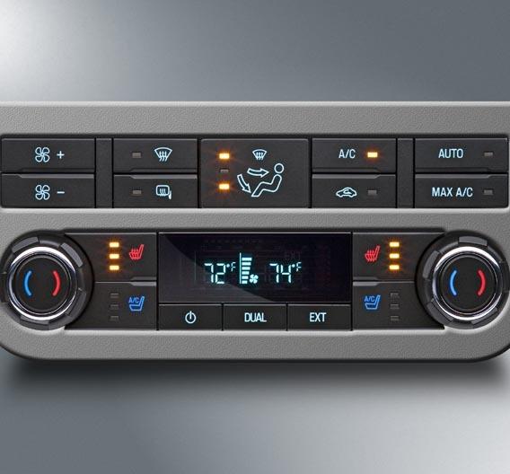 Preh entwickelte und fertigt das Klimabediensystem des Ford F-250 / F-350.