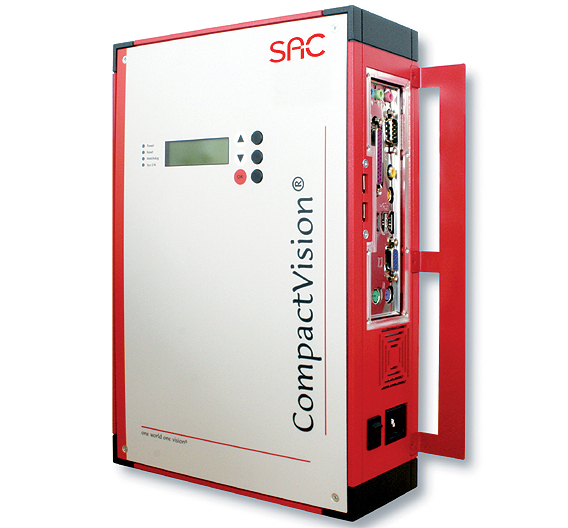 »CompactVision« von SAC Sirius Advanced Cybernetics ist ein robustes Kompakt-Bildverarbeitungssystem in FireWire-Technik für Anwendungen in der Industrie.