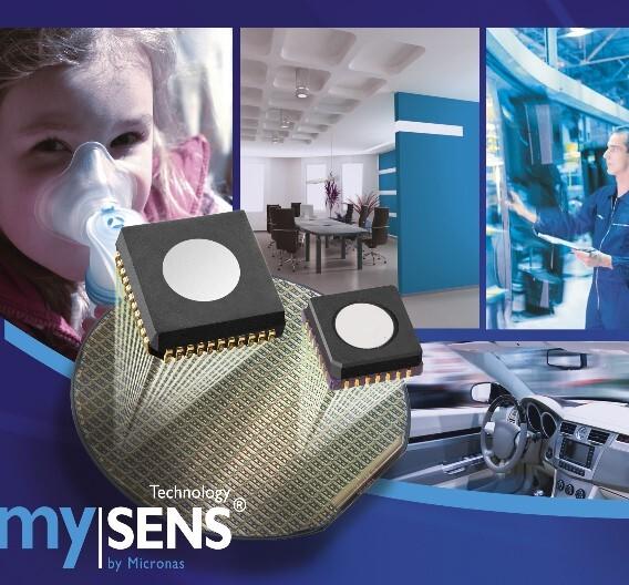 Der mySENS-Gas-Sensor GAS85xyB von Micronas.