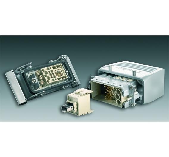 Gigabit-Ethernet-Modul für das modulare Steckverbindersystem Rockstar