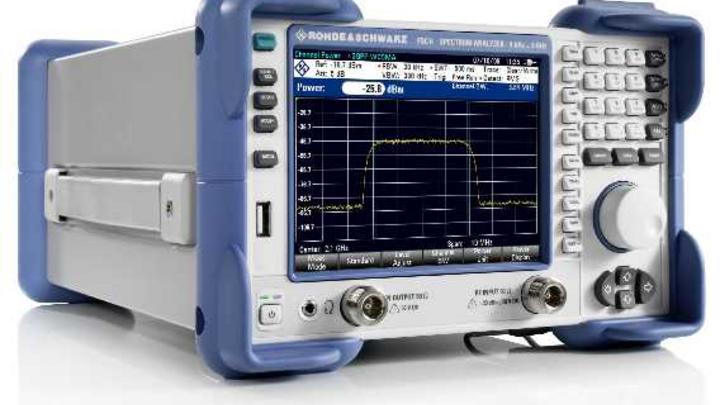 Kompakter Spektrumanalysator FSC von Rohde & Schwarz