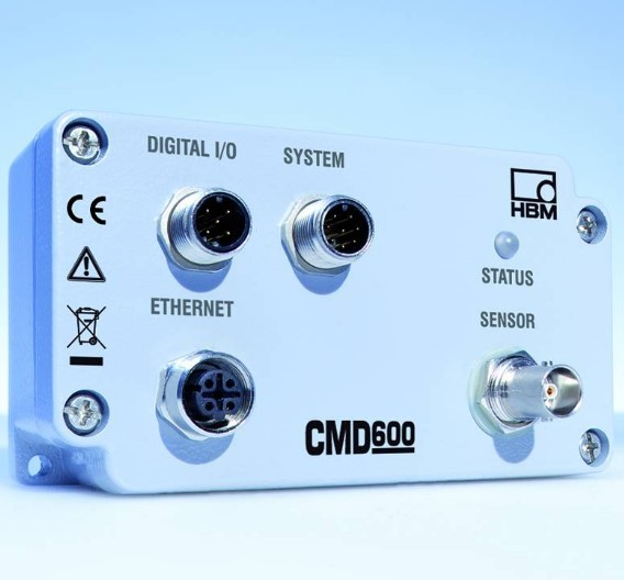 Der Ladungsverstärker CMD600 von HBM.