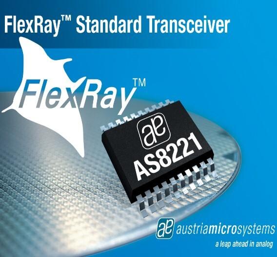 Der FlexRay-Transceiver AS8221 von austriamicrosystems.