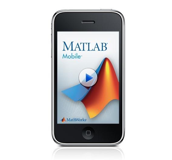 Matlab mobile verbindet sich mit Matlab auf einem stationären PC.