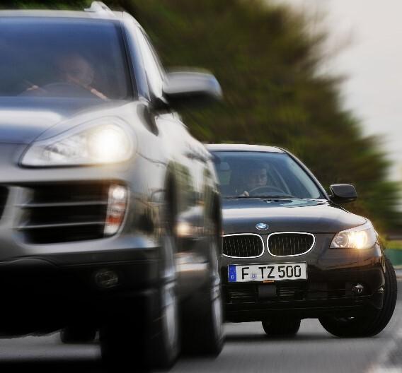 Der Ausweichassistent von Continental soll den Fahrer beim Ausweichen vor Hindernissen unterstützen.