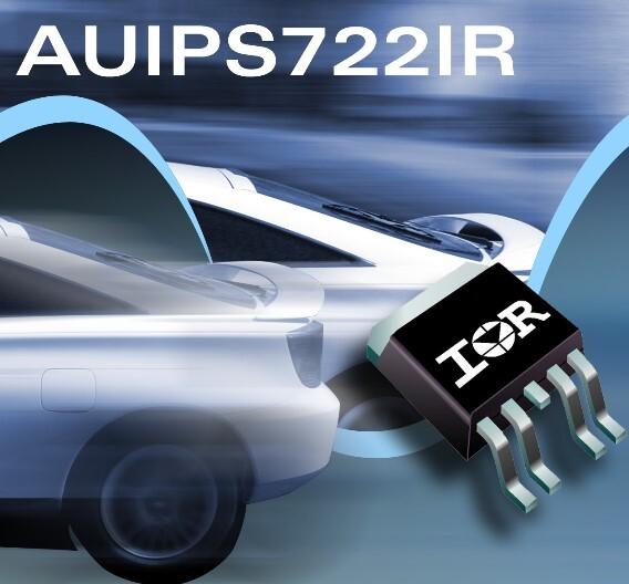 Der Leistungsschalter AUIPS7221R von IR.