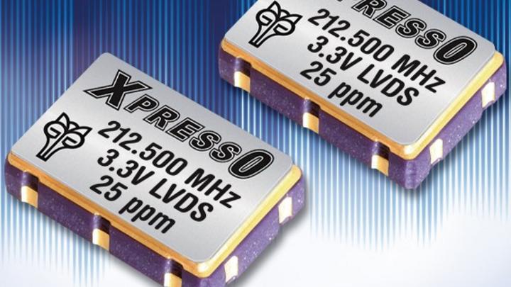 Die LVDS-Oszillatoren von Fox (Vertrieb: WDI).