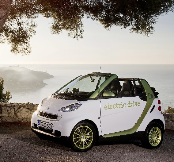 Die zweite Generation des smart fortwo electric drive.