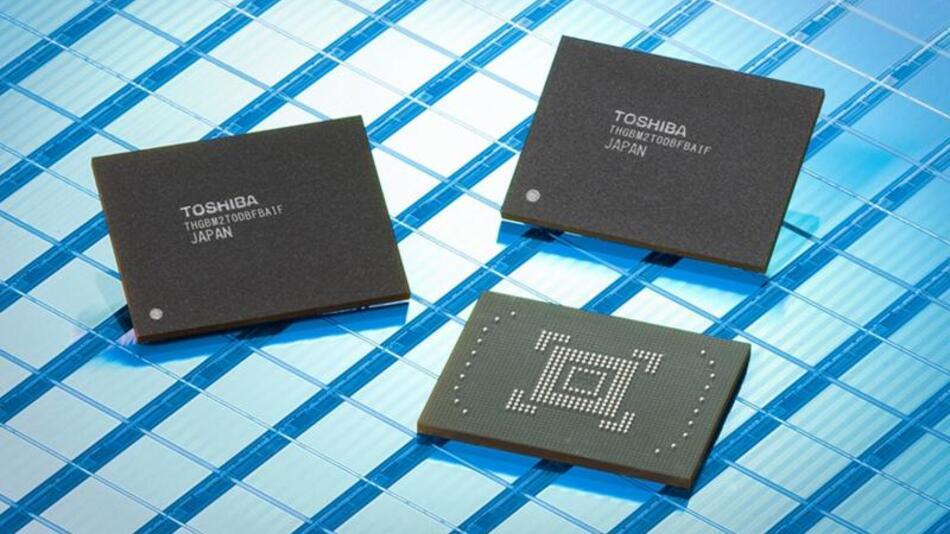 eMMC-konformer Embedded-Speicher