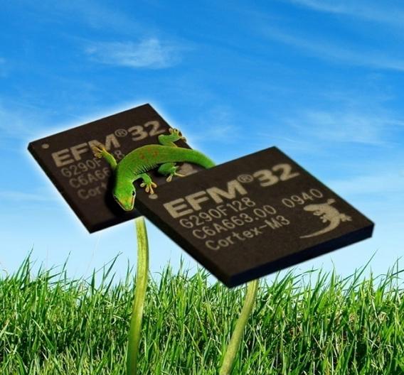Die Energiespar-MCU EFM32 von Energy Micro.