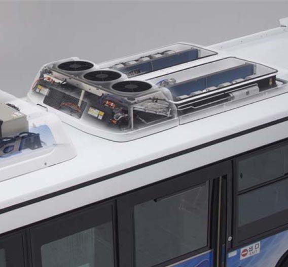 HVAC: Denso: Elektrische Klimaanlage für Hybridbusse | Elektronik ...