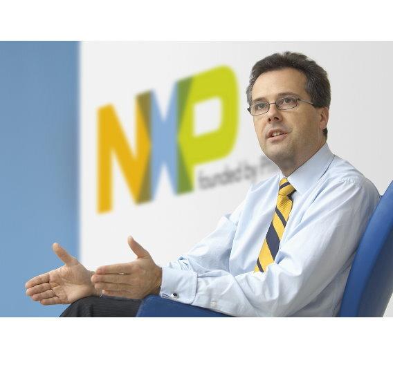 """Kurt Sievers, Senior Vice President & General manager der Business Unit Automotive bei NXP: """"Leistungsfähige Funktionen, Energieeffizienz und Robustheit sind die Eckpunkte unserer High-Performance-Mixed-Signal-Strategie"""""""