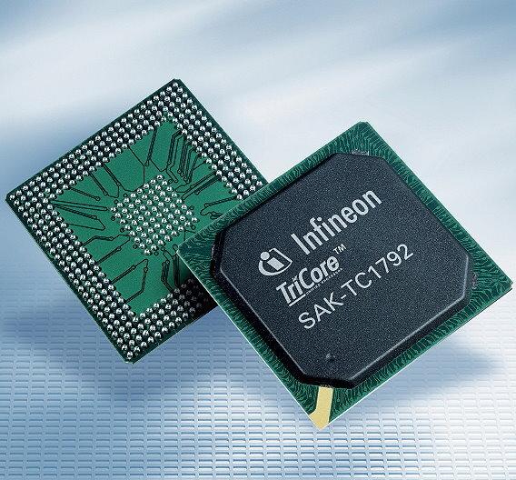 Die 32-Bit Mikrocontroller der Familie AUDO MAX von Infineon Technologies für Antriebsstrang und Fahrwerksteuerung