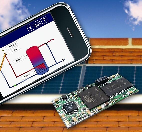 Als Embedded-IP-Gateway in Automatisierungsgeräte integriert wird der Computer-on-Module »DIL/NetPC DNP/9265« von SSV Software Systems.